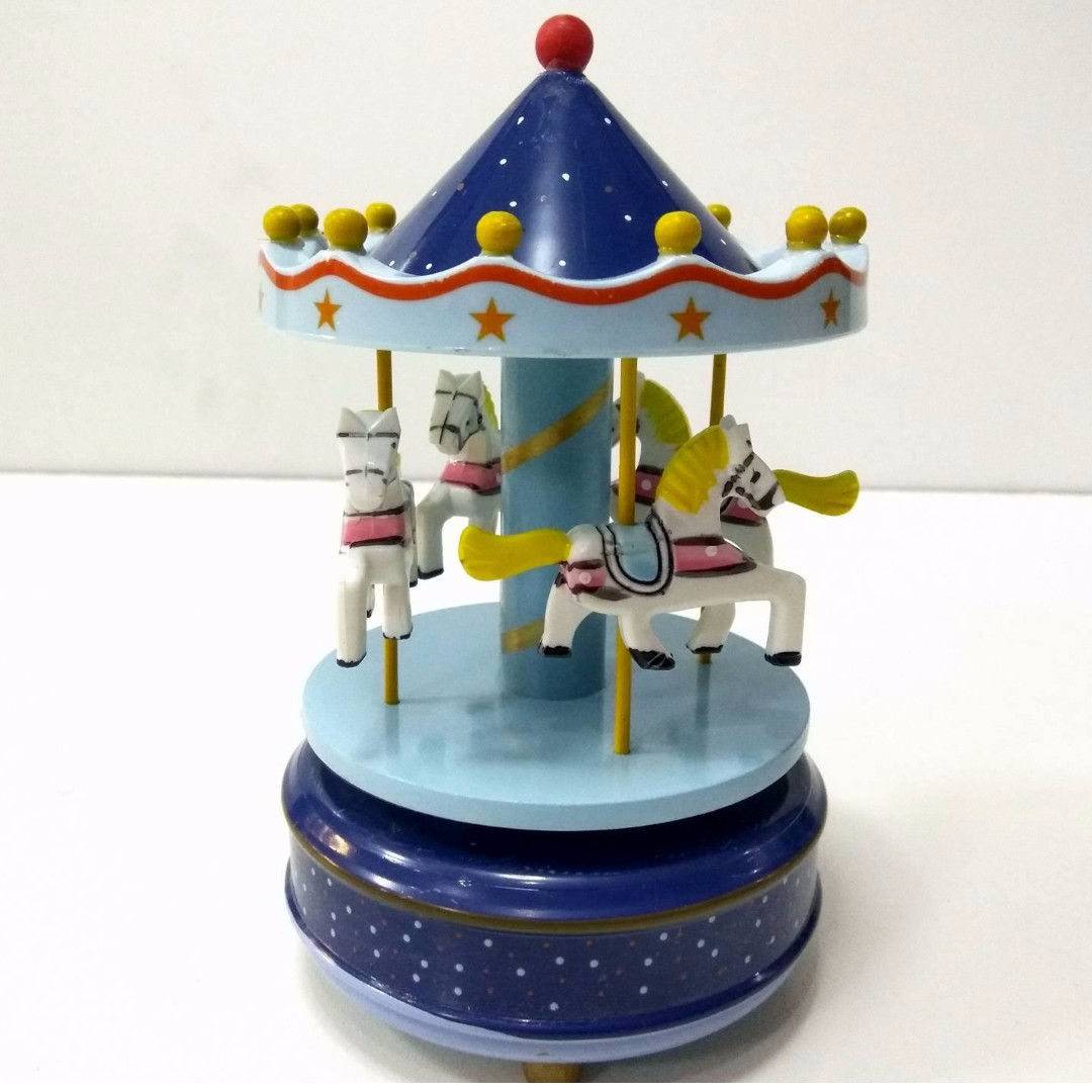 18cm Musical Rotating Carousel
