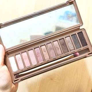 (二手彩妝免運)Urban Decay Naked3 Eyeshadow Palette