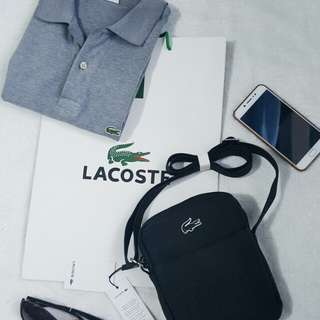 Lacoste sling bag (on hand)