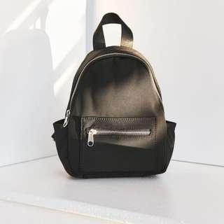 Neoprene Mini Backpack (Black)