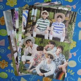 BTS Summer Package A3 Poster Set