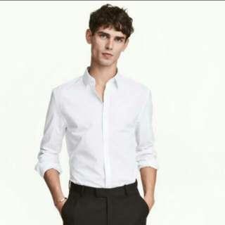 High quality Fitting white shirt