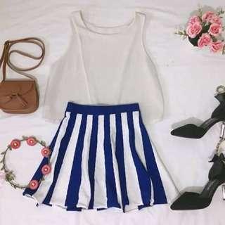Top & skirt .