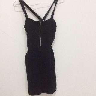 H&M BLACK DRESS MURAH ATASAN MURAH