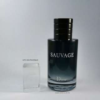 Christian Dior Sauvage (Authentic perfume & tester)