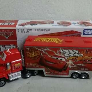 Mac truck disney car
