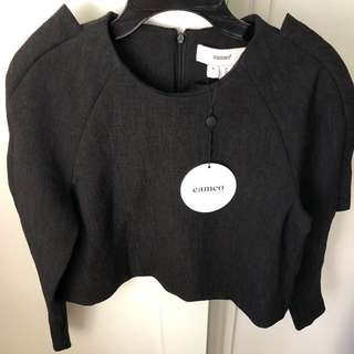 Cameo 'The Islands' Jumper Black Size Small