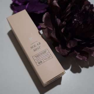 We are cultured 'Solar Mist' essential oils spray
