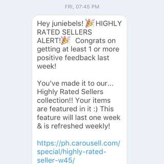 HIGHY RATED SELLER!