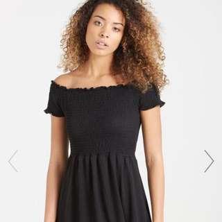 lindi off the shoulder dress ✨