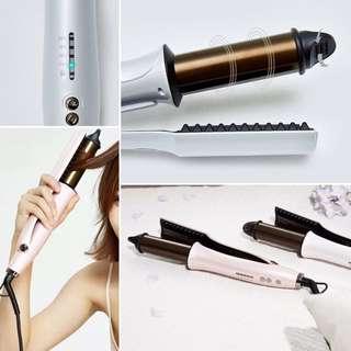 日本髮廊品牌製造商自動捲髮器