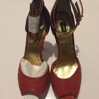 Mimco Heels Size 37