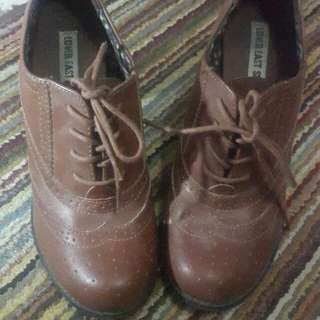 Half Boots Vintage Lower East Side, brown leather Size: 7
