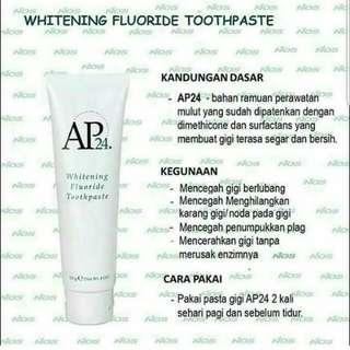 Whitening Fluoride Toothpaste Nuskin