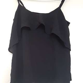 Cute ruffle singlet top