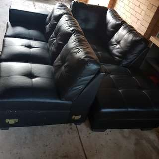 6 seater L shape couch