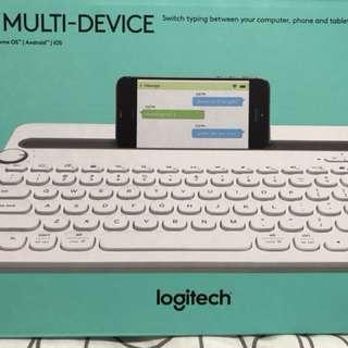 Logitech K480 Multi Device Bluetooth Keyboard for Sale