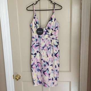 BNWT Luvalot Midi Dress (Size 8)