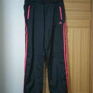Adidas 運動褲 擋風