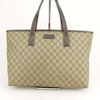 Gucci Classic Tote Bag (Brown)