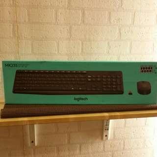《免運》羅技 Logitech MK235 無線鍵盤滑鼠組
