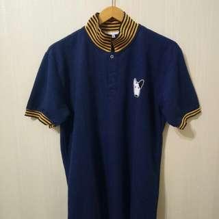 Dog Navy Polo Shirt