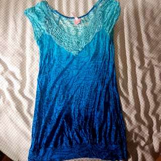 Rue 21 Blue Top