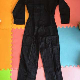 Navy Blue Utility Overall / Coverall