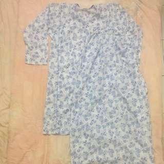 Floral Cotton Baju Kurung