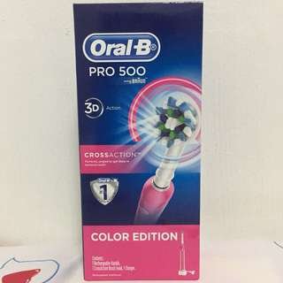 Oral-B PRO 500 - Powered by BRAUN