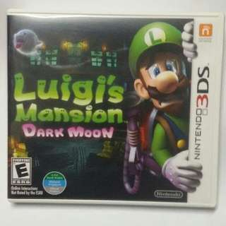 Nintendo 3DS Luigi's Mansion: Dark Moon