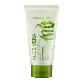 Nature Republic Aloe Vera Gel Cleansing Foam