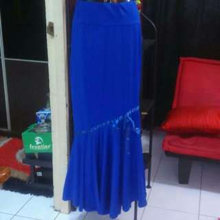 Blue Long Skirt / Kain Baju Kurung #20under