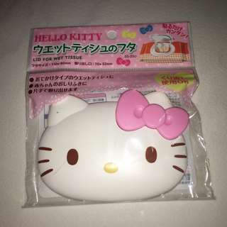 NEW Hello Kitty Wet Tissue Lid / Cover