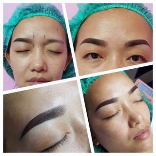 Eyebrows embroidery 6D