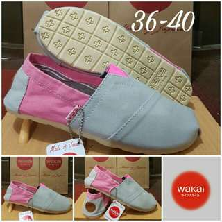 Wakai slip on grade original