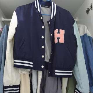 韓風棒球外套