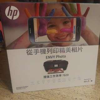 HP Envy Photo 7820 多合一 打印 傳真 掃描 影印 網絡 相片