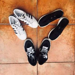 PACKAGE OF 3 SHOES (Adidas and Vans)