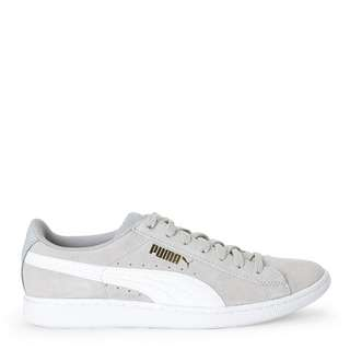 Puma vikky trainers in grey and white