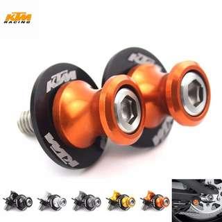 KTM swingarm spool kit / bobbins