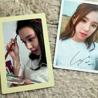 (Free Shipping) TWICE Chaeyoung Official Photocards
