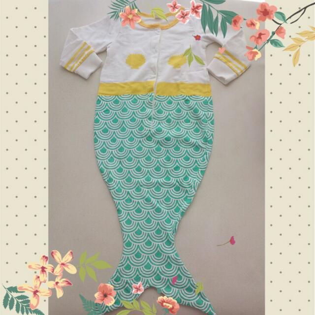 (2nd) Mermaid Baby Jumper