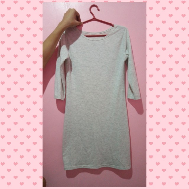 3/4 Plain Dress