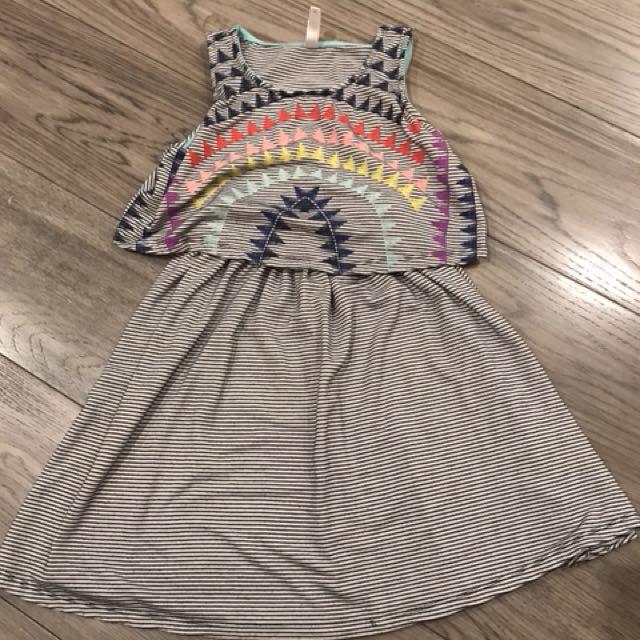 3 dresses for girls aged 6-8 fr US