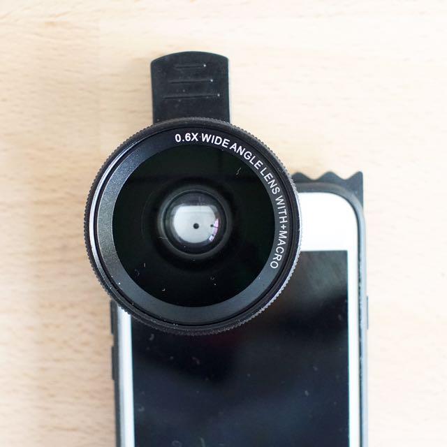 《自拍必備》抗變形超廣角+微距手機鏡頭