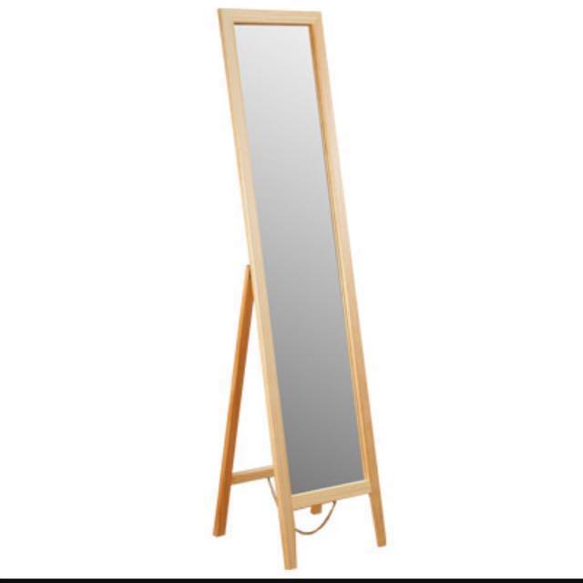 鏡子、直立式立鏡、穿衣鏡