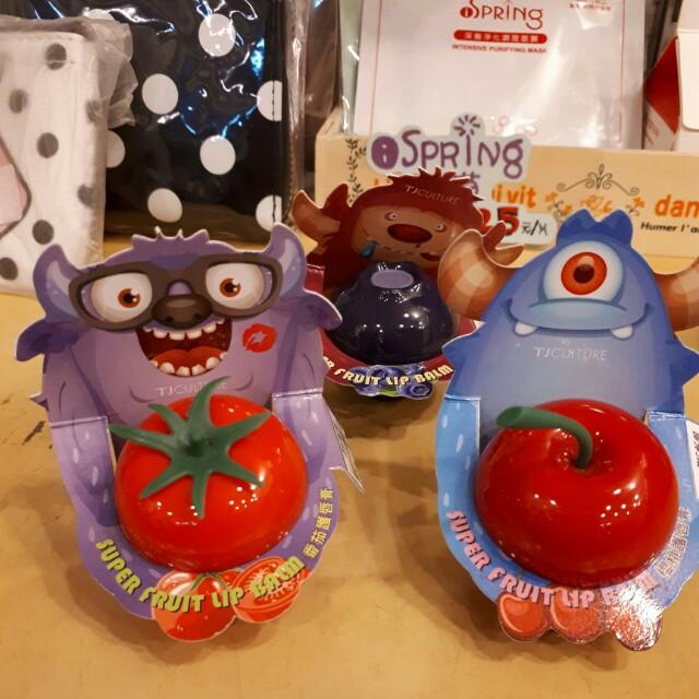 水果造型護唇膏