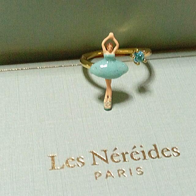蕾娜海 芭蕾女伶戒指