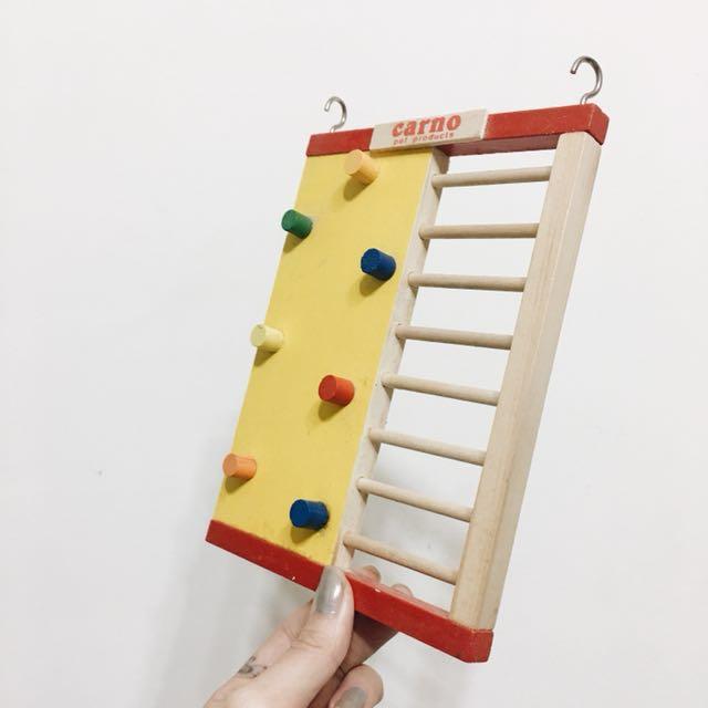 倉鼠 小型鼠 木質攀岩運動爬梯
